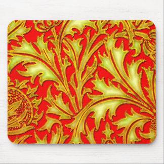 Rote Golddistel Mousepad