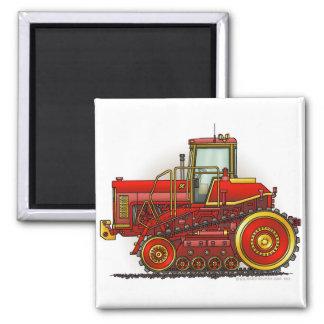 Rote große Bulldozer-Traktor-Magneten Kühlschrankmagnete