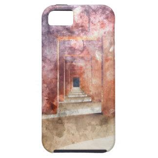 Rote Halle beim Taj Mahal Etui Fürs iPhone 5