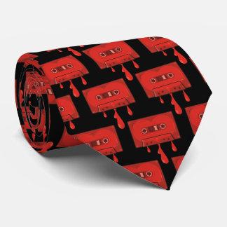 Rote Herz-Kassette Krawatte