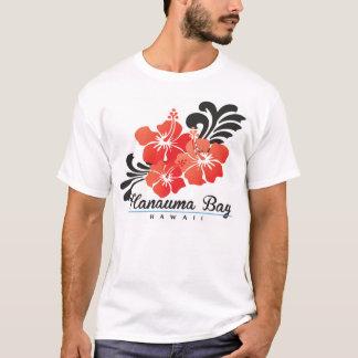 Rote Hibiskus-Blume Hawaiis T-Shirt