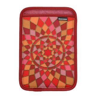 rote hochrote rosarote Pinata-Mandala iPad Mini Sleeve