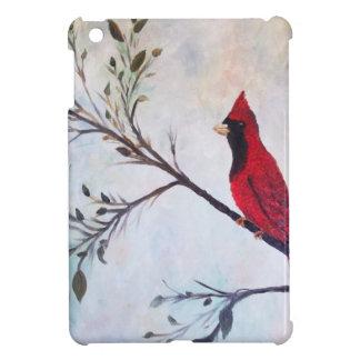 Rote Kardinals-Kunst-Produkte bei Zazzle durch Hüllen Für iPad Mini