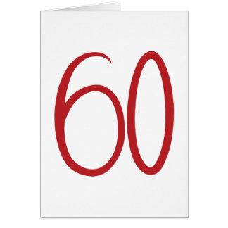 rote Karte 60