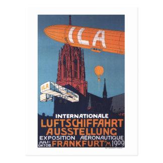 Rote Kathedrale - 1. Luftfahrtausstellung Postkarte