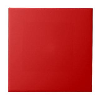 Rote Keramik Süßigkeits-Apples deckt Akzent-Weiß m Kleine Quadratische Fliese