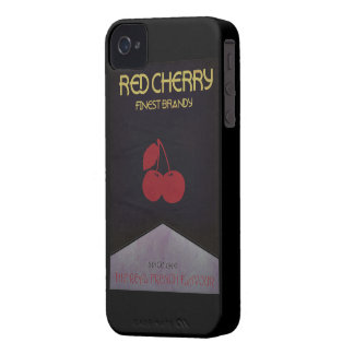 Rote Kirschmarke iPhone 4 Cover