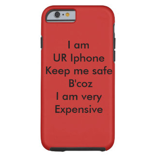 Rote klassische Iphone Abdeckung mit großem Blick Tough iPhone 6 Hülle