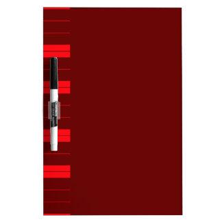 Rote Klavier-Schlüssel Memoboard