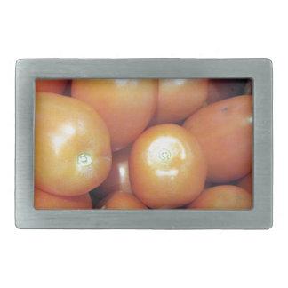 Rote kleine Tomaten Rechteckige Gürtelschnallen