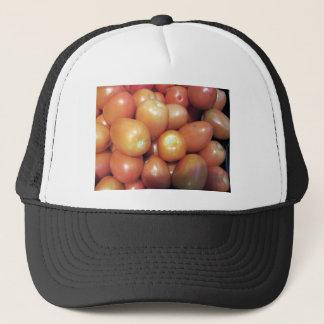 Rote kleine Tomaten Truckerkappe