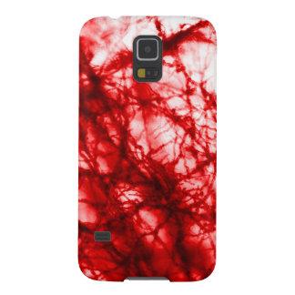Rote knotige Form Samsung Galaxy S5 Hülle