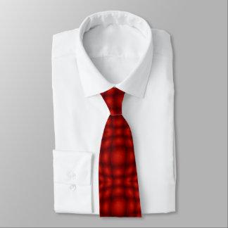 Rote konvexe Illusion Personalisierte Krawatten