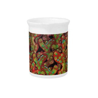Rote Korallen Getränke Pitcher