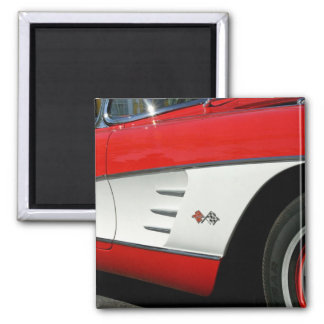 Rote Korvette - Magnet