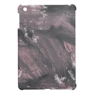 Rote Kreide und schwarze Tinte iPad Mini Hülle
