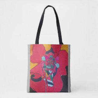Rote Leidenschafts-Tasche Tasche