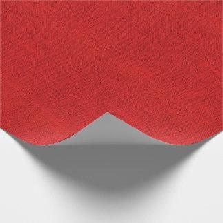 Rote Leinwand-Beschaffenheit Geschenkpapier