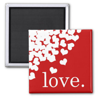 rote Liebe - Magnet Kühlschrankmagnet