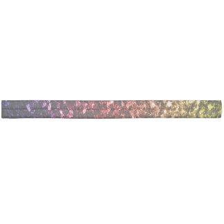 Rote lila Glitzern des schönen Regenbogengelbs Haarschleife