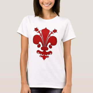 Rote Lilie T-Shirt