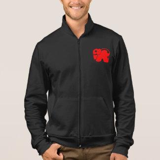 Rote Logo-Elefant-Jacke Jacke