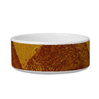 Rote Malereientwurfskunst des orange Gelbs Napf
