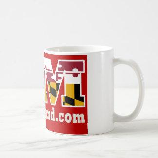 Rote Marylandlogo-Tasse 2018 Kaffeetasse