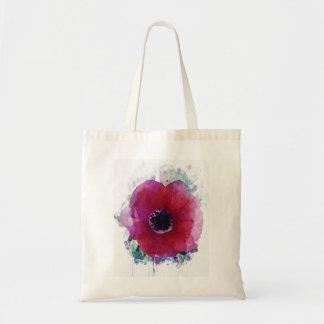 Rote Mohnblumen-romantische Tasche Bag| alle Arten