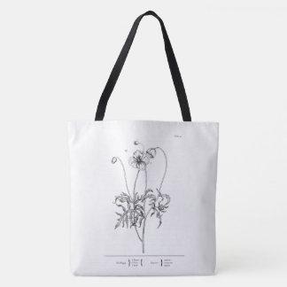Rote Mohnblumen-Tasche Tasche