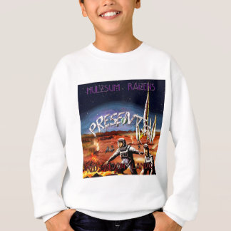 Rote Mond-Landungs-Abdeckung Sweatshirt