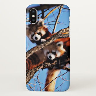 rote Pandas iPhone X Hülle