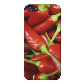 Rote Paprika-Paprikaschoten-Geschenk-Strecke Hülle Fürs iPhone 5