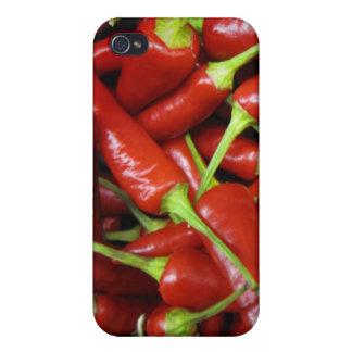 Rote Paprika-Paprikaschoten-Geschenk-Strecke Schutzhülle Fürs iPhone 4