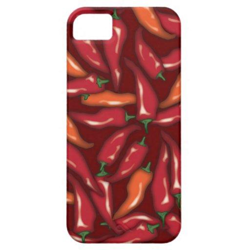 Rote Paprika-Paprikaschoten Etui Fürs iPhone 5
