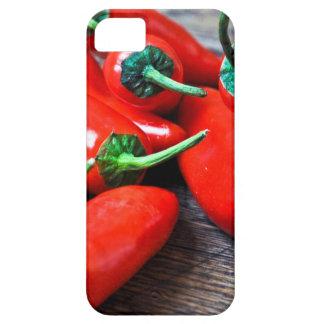Rote Paprika - Stillleben iPhone 5 Schutzhüllen