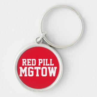 Rote Pille MGTOW Schlüsselanhänger