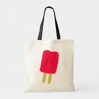 Rote Popsicle-Taschen-Tasche Tragetasche