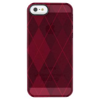 Rote Raute Durchsichtige iPhone SE/5/5s Hülle