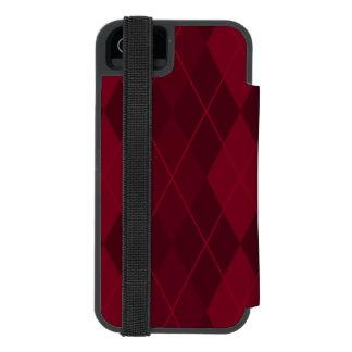 Rote Raute Incipio Watson™ iPhone 5 Geldbörsen Hülle