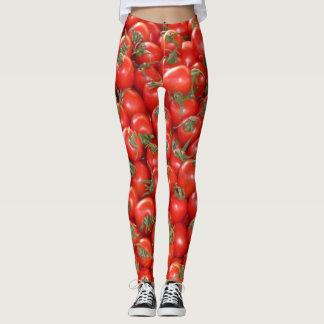 Rote Rebe-Tomaten Leggings