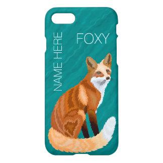 Rote Retro Art iphone7 Fox addieren Ihren Foxy iPhone 8/7 Hülle