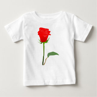 Rote Rose Baby T-shirt