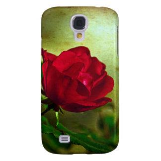 Rote Rose der Tag mystischer Gartengotische Galaxy S4 Hülle