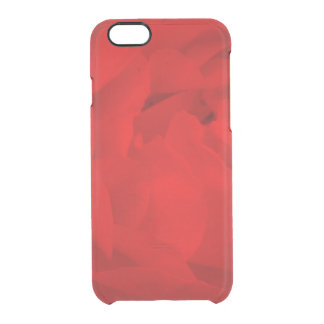 Rote Rose iPhone Fall Durchsichtige iPhone 6/6S Hülle