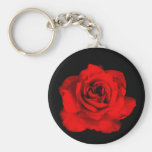 Rote Rose keychain Schlüsselbänder