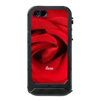 Rote Rose personalisiert Incipio ATLAS ID™ iPhone 5 Hülle