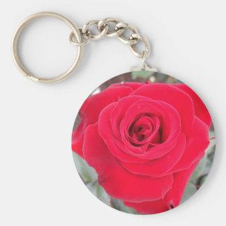 Rote Rose Schlüsselanhänger