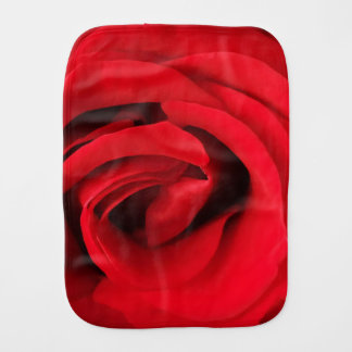 Rote Rose Spucktuch