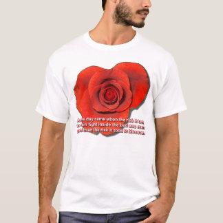 Rote Rose T-Shirt